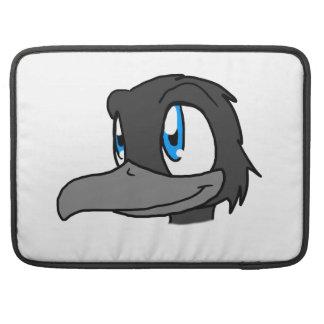 Crow's Head Sleeve For MacBooks