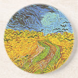 Crows in a Wheatfield Coasters
