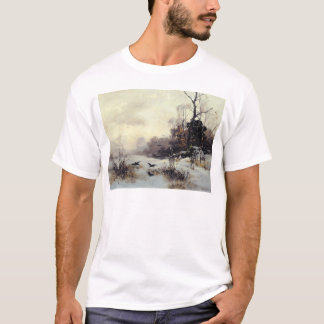 Crows in a Winter Landscape, 1907 T-Shirt