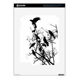 Crows iPad 3 Decals