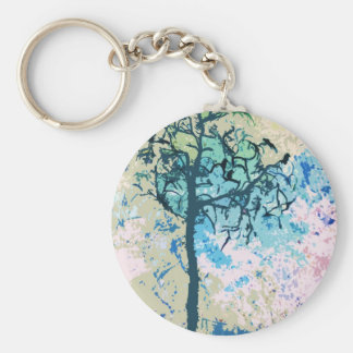 Crows Key Chains