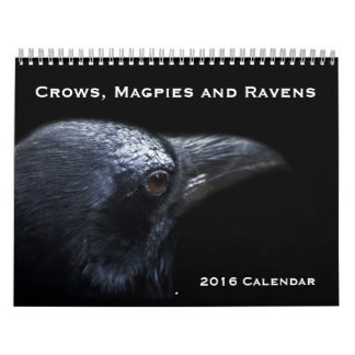 Crows, Magpies and Ravens 2016 Calendar