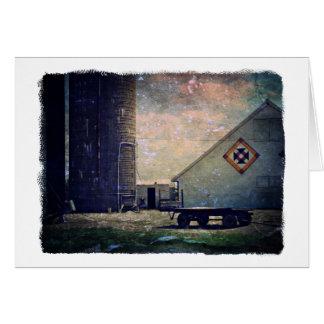 Crow's Nest Barn Quilt Card