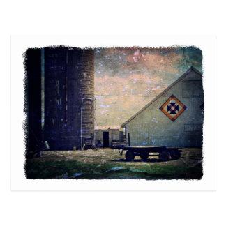 Crow's Nest Barn Quilt Postcard