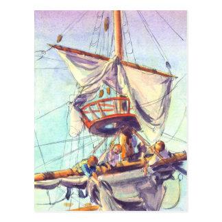 CROW'S NEST by SHARON SHARPE Postcard