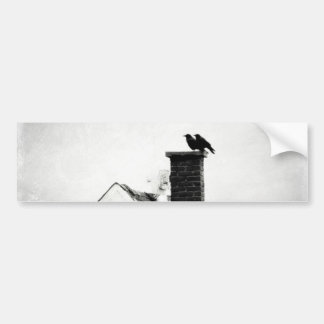 Crows On The Chimney Bumper Stickers