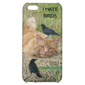 Crows Pester a Cat iPhone 5C Covers