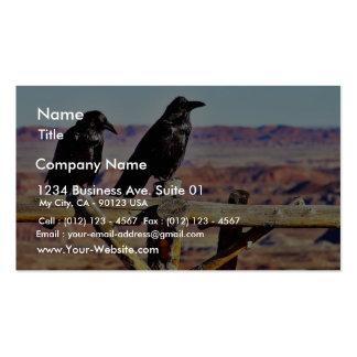 Crows Ravens Birds Black Business Card
