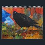 """Crows, Ravens, &amp; Blackbirds Calendar<br><div class=""""desc"""">Crows,  Ravens and Blackbirds by Robin Maria Pedrero</div>"""