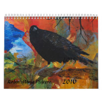 Crows, Ravens, & Blackbirds Calendar