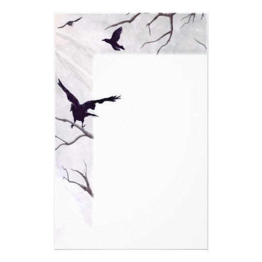 Crows Stationary Stationery