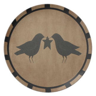Crows With Star Plate