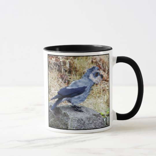 Crowschnauzer mug
