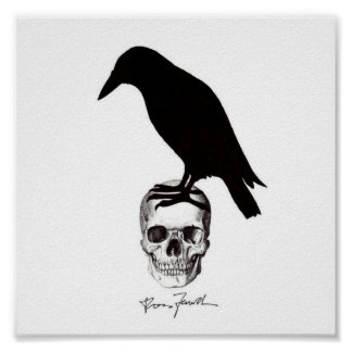 Crowskull Poster