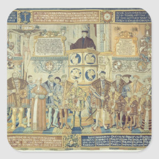 Croy Tapestry, 1554 Square Sticker