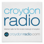 "Croydon Radio Square 12"" Poster"