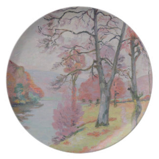 Crozant, Brittany, 1912 (oil on canvas) Melamine Plate