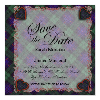 Crozier clan Plaid Scottish kilt tartan Card