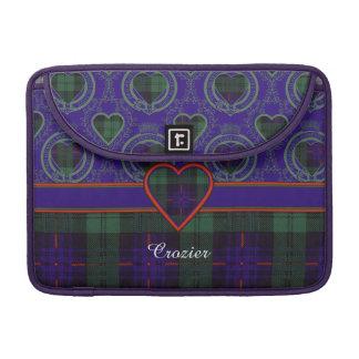 Crozier clan Plaid Scottish kilt tartan Sleeve For MacBook Pro