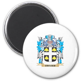 Crozier Coat of Arms - Family Crest Magnets