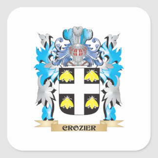 Crozier Coat of Arms - Family Crest Sticker