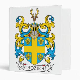 Crozier Family Crest Binders