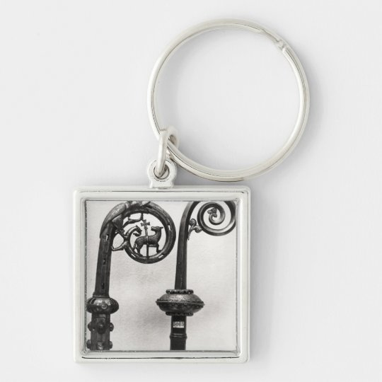 Crozier of the Abbots of Clairvaux Keychain