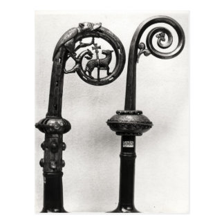Crozier of the Abbots of Clairvaux Postcard