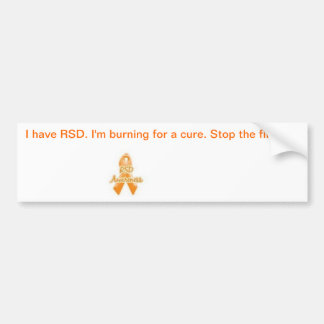 CRPS Awareness Car Bumper Sticker