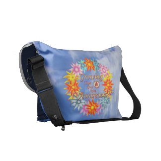 CRPS Growing Awareness Help Solve the Mystery Ball Courier Bags
