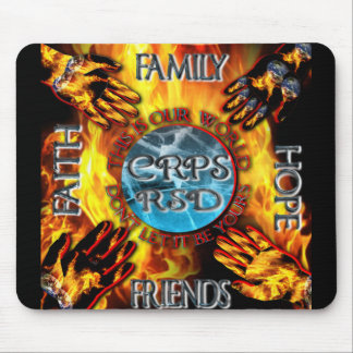 CRPS Keeping our World Turning  Mouse Pad