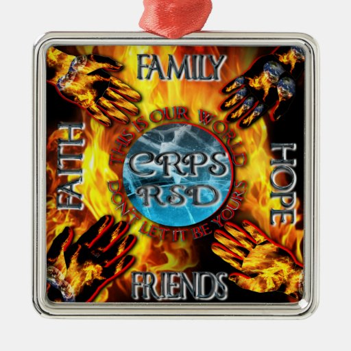 CRPS Keeping our World Turning Ornament