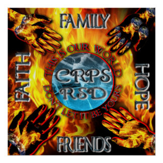 CRPS Keeping Our World Turning Poster