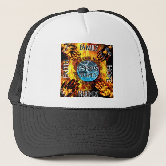 CRPS Keeping our World Turning  Trucker Hat