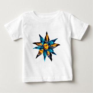 CRPS Lava Blooms Blazing Earth & Glacier Petals Baby T-Shirt