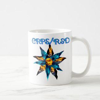 CRPS Lava Blooms Blazing Earth & Glacier Petals Classic White Coffee Mug