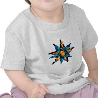 CRPS Lava Blooms Blazing Earth & Glacier Petals T-shirt
