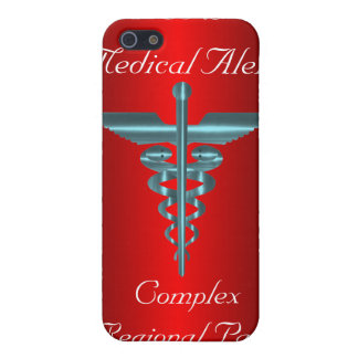 CRPS Medical Alert Symbol Asclepius Caduceus iPhone 5 Cases
