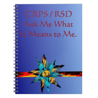 CRPS RSD Ask Me What It Means to Me Lava Bloom Not Note Books