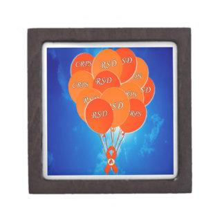 CRPS RSD Awareness Orange Ribbon  Premium Gift Box