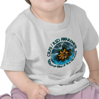 CRPS RSD Awareness World of Fire Ice Logo Shirts