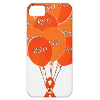 CRPS RSD Balloons Hope Over Pain Phoenix Ribbon iPhone 5 Case
