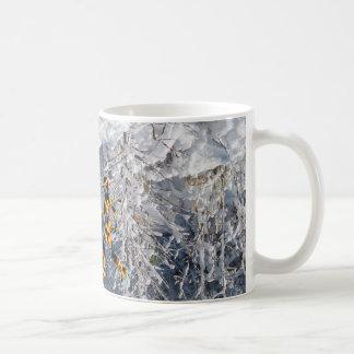 CRPS RSD Blazing Figures on NC Winter Landscape Coffee Mug