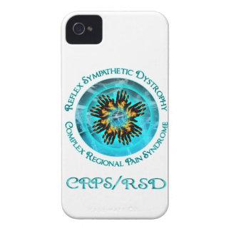 CRPS RSD Blazing Hand Starbusrt Blackberry Bold Ca iPhone 4 Case-Mate Case