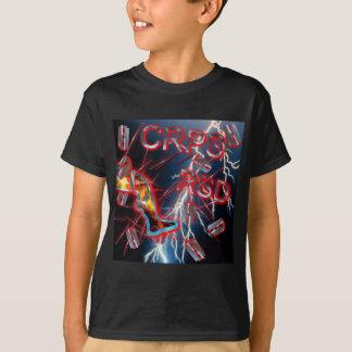 CRPS/RSD Blue Lightning Razor Blades & Needles T-Shirt