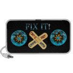CRPS / RSD Fix It! Band Aid Fire & Ice Starburst iPod Speakers
