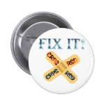 CRPS / RSD Fix It ! Band Aid X 2 Inch Round Button