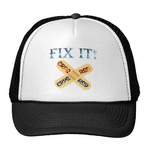 CRPS / RSD Fix It ! Band Aid X Trucker Hat