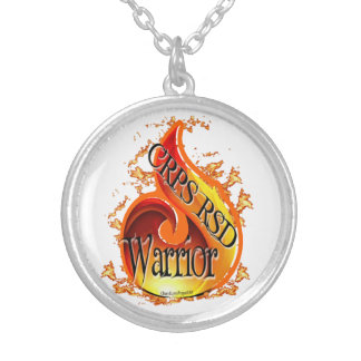 CRPS/RSD Flame Warrior Necklace