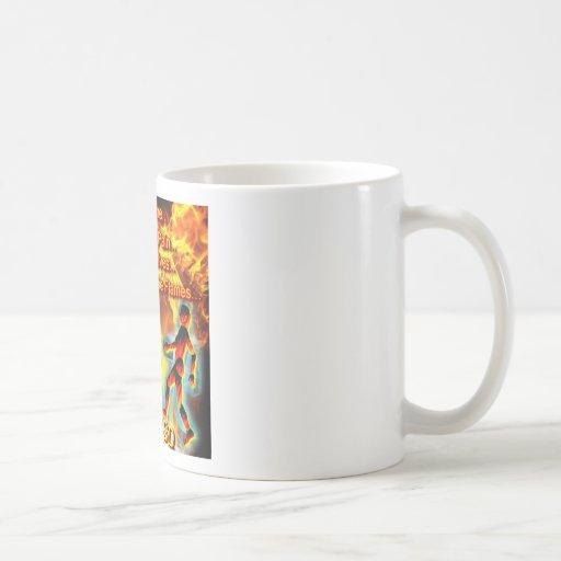 CRPS/RSD Living Our Lives, Fighting the Flames Coffee Mug